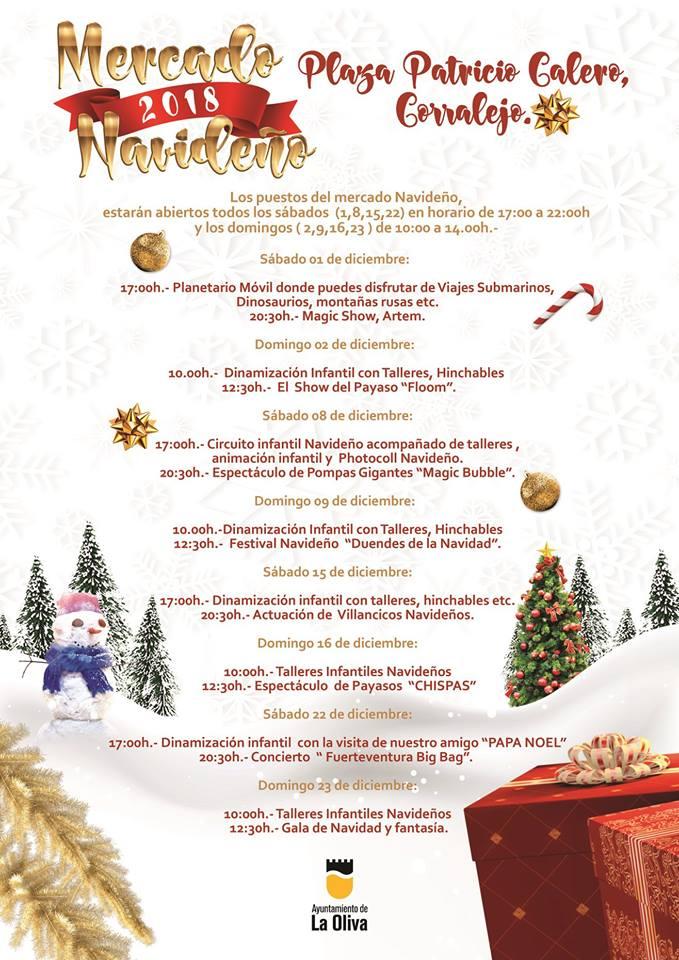 corralejo christmas market fuerteventura 2018