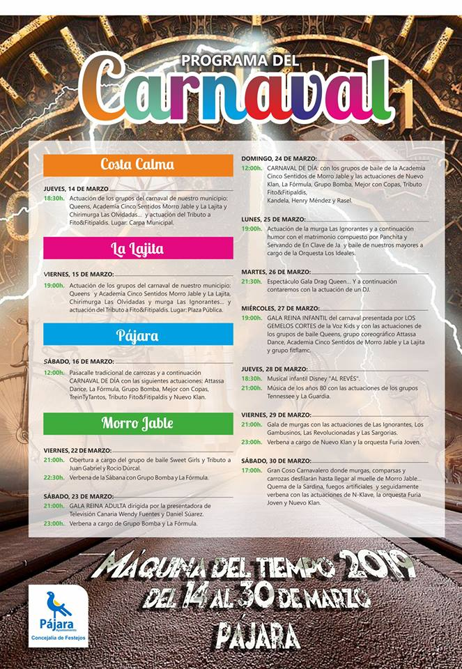 pajara carnival 2019