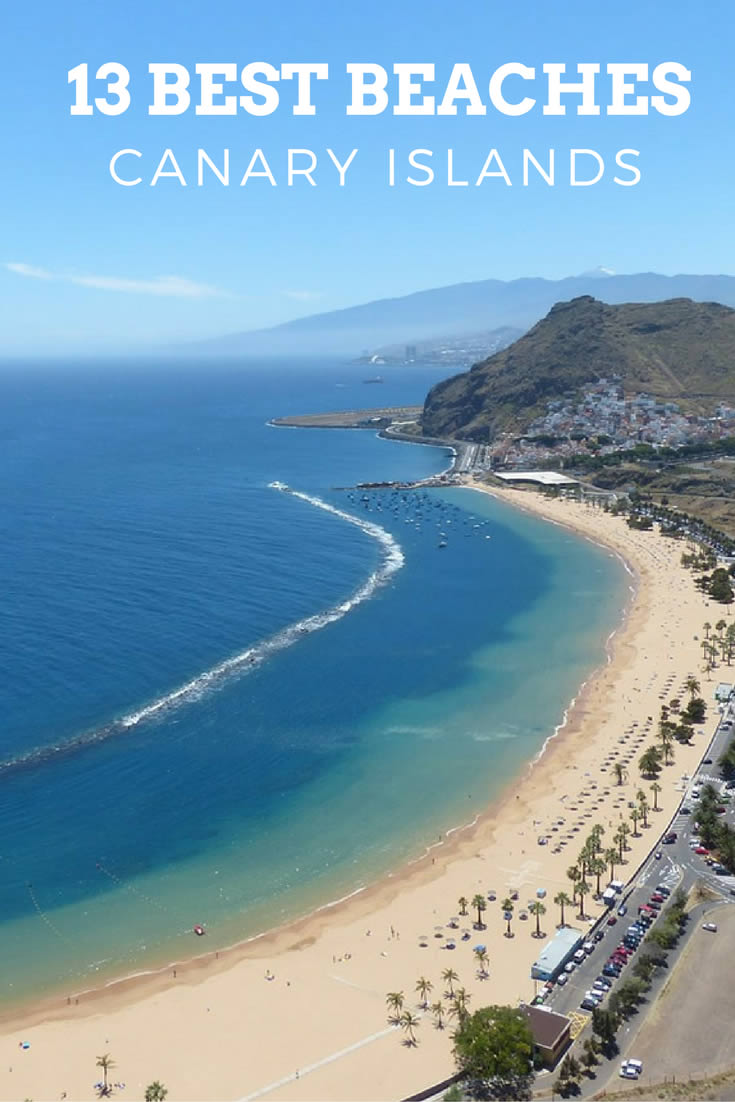 White Sand Beaches Canary Islands