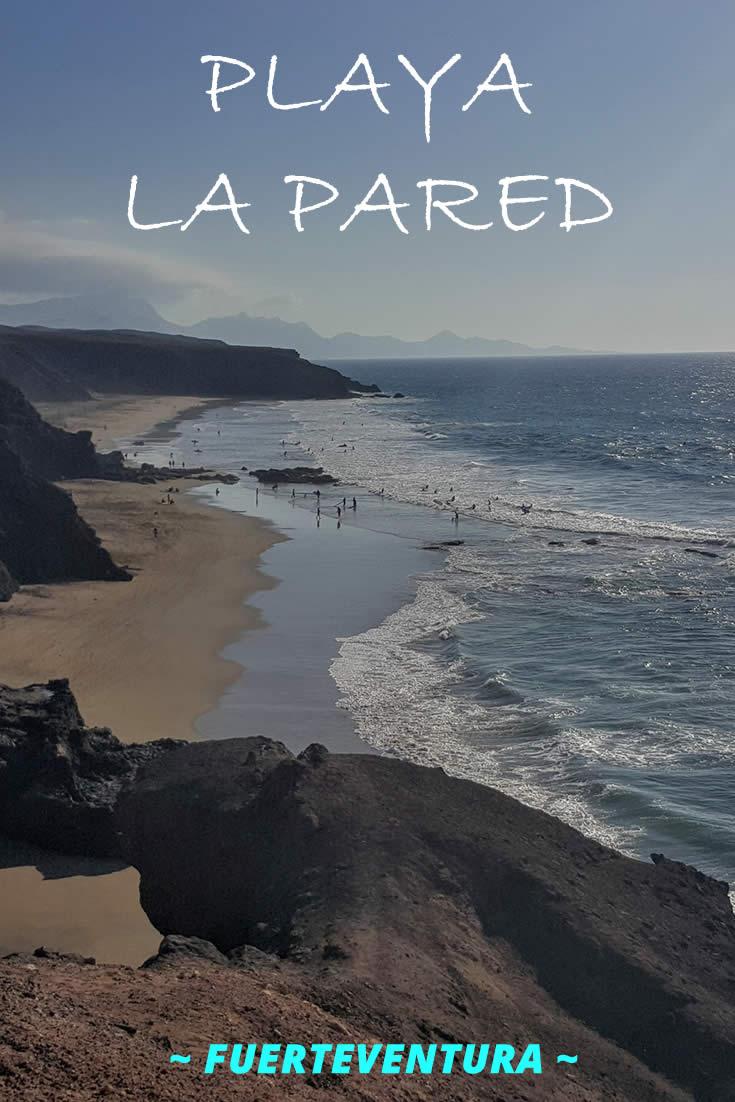 Playa La Pared Wild Beach On The West Coast Of Fuerteventura