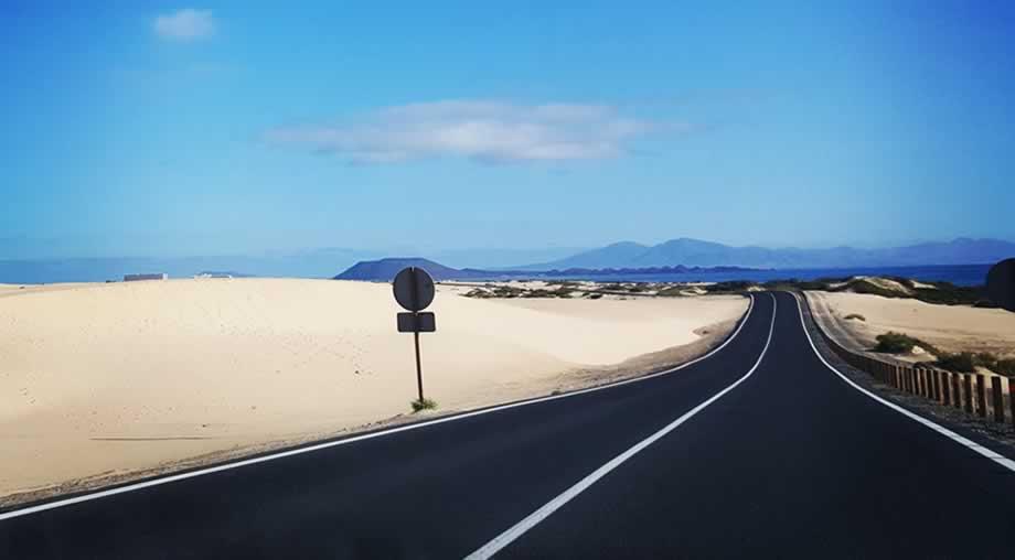 road corralejo dunes