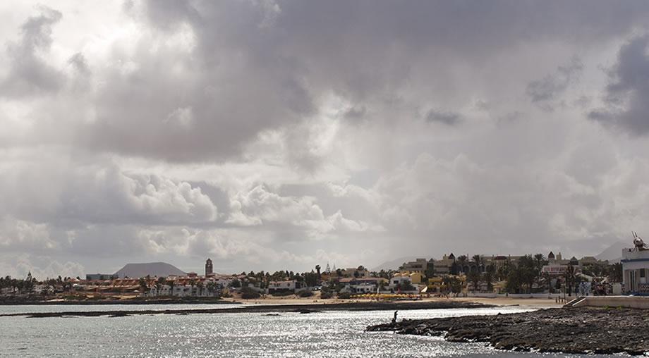 corralejo cloudy fuerteventura