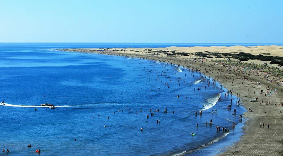 maspalomas playa del ingles weather august