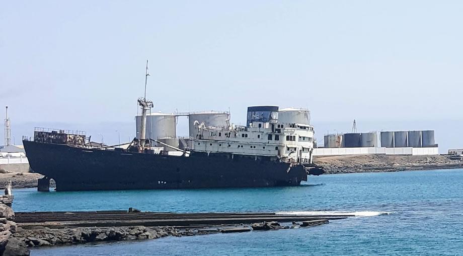 shipwreck arrecife lanzarote