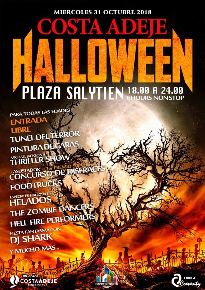 halloween costa adeje 2018