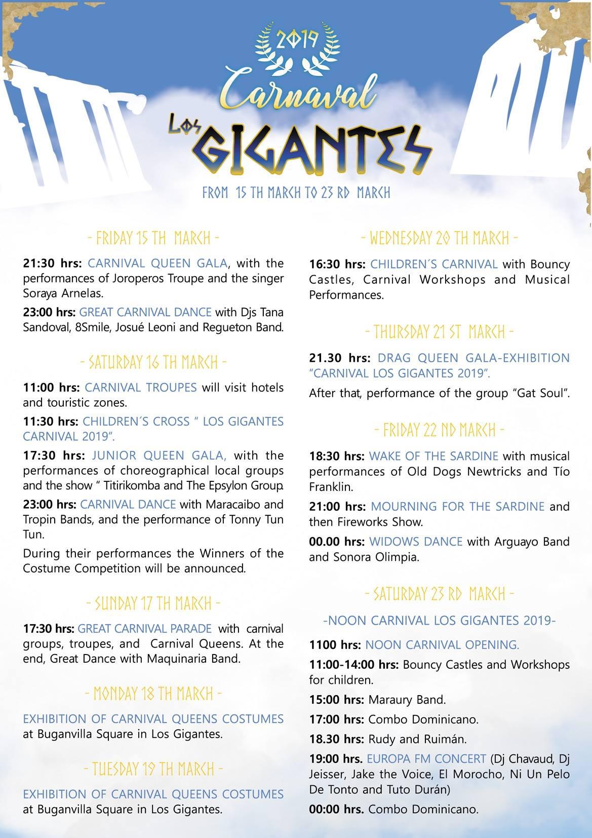 los-gigantes-carnival-2019-program