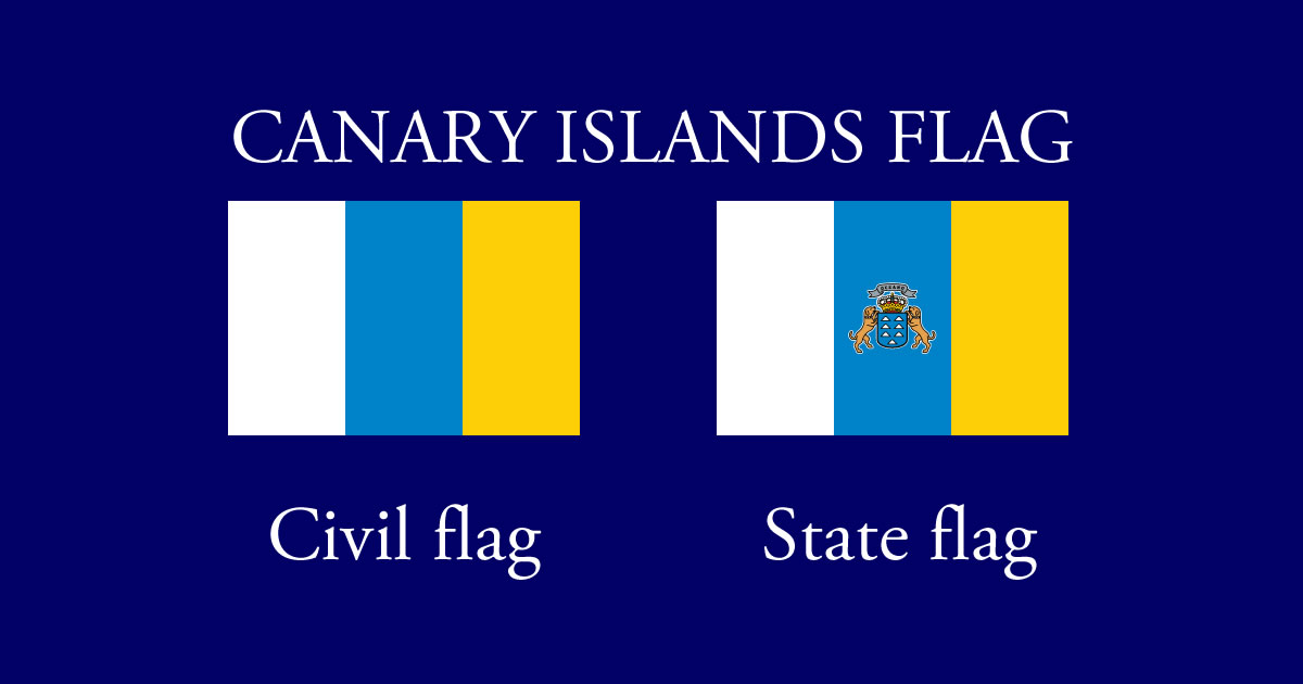 Canary Islands Flag And Coats Of Arms History Meaning