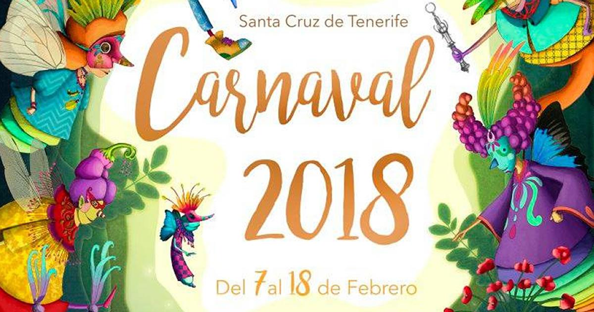 tenerife carnival 2018 schedule events in santa cruz