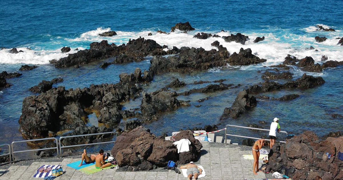 Playa san telmo swim in the natural pools in puerto de la cruz - Hotel san telmo puerto de la cruz tenerife ...