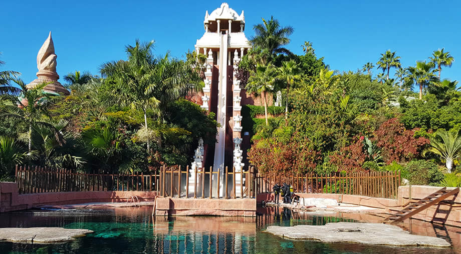 tower of power siam park tenerife