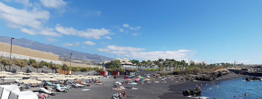 La Jaquita beach in Alcala