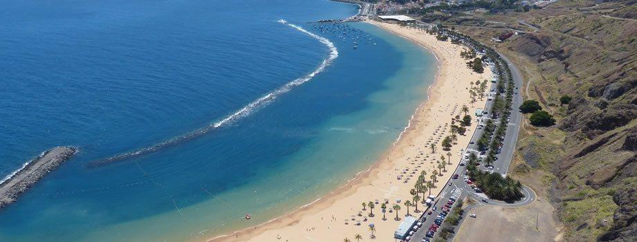 Las Teresitas Beach, San Andres