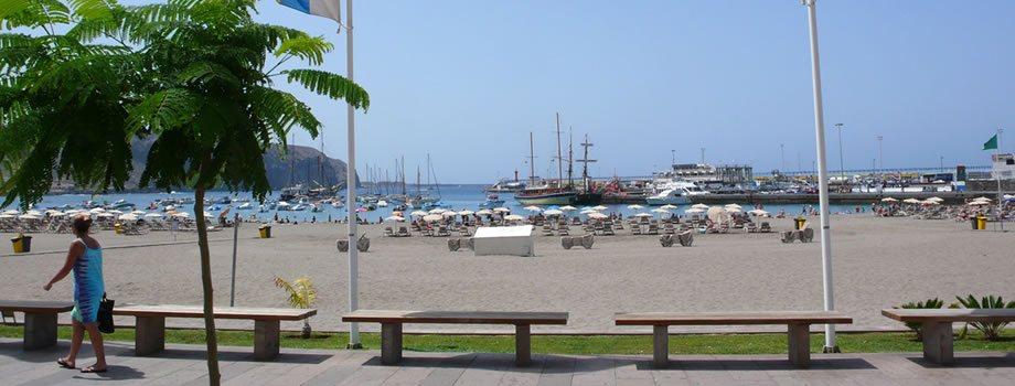Los Cristianos Beach, Los Cristianos