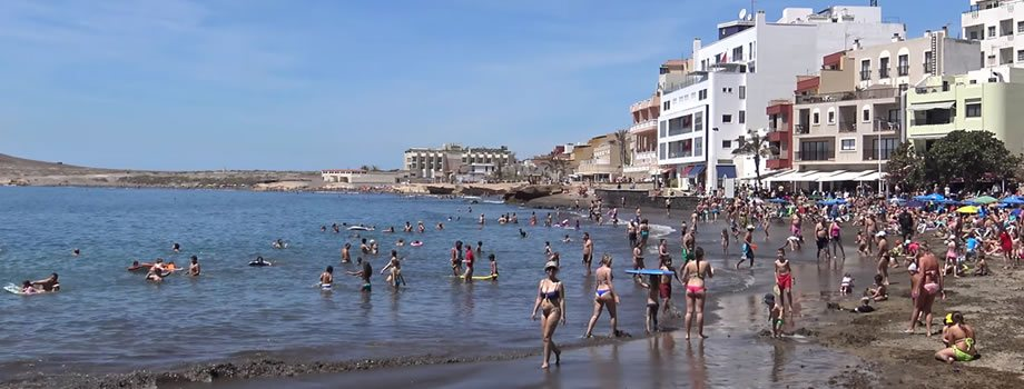 Playa Chica Beach, El Medano