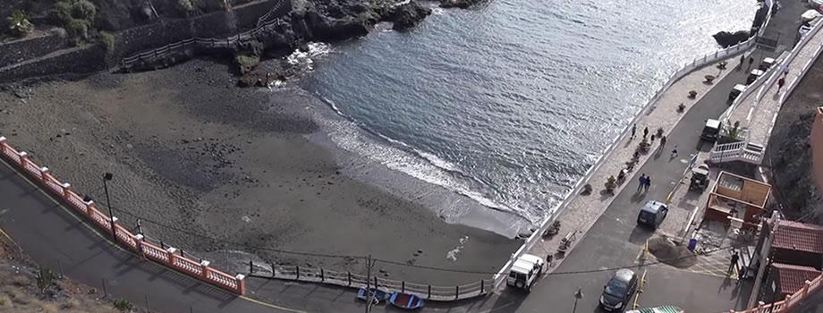 Playa Chica in Santiago del Teide