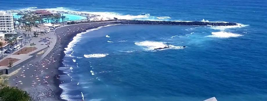 Playa de Martianez, Puerto de la Cruz