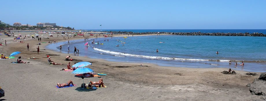 Troya Beach in Playa de las Americas