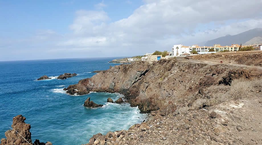 walk from alcala playa san juan tenerife