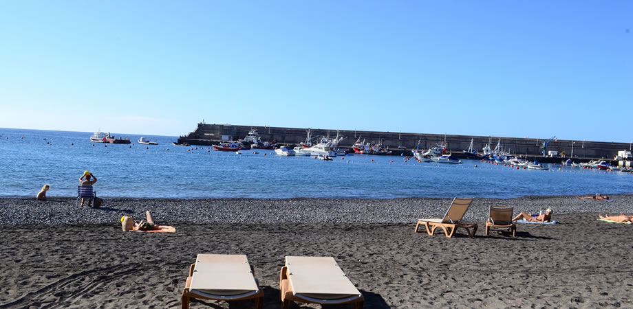 playa san juan january tenerife