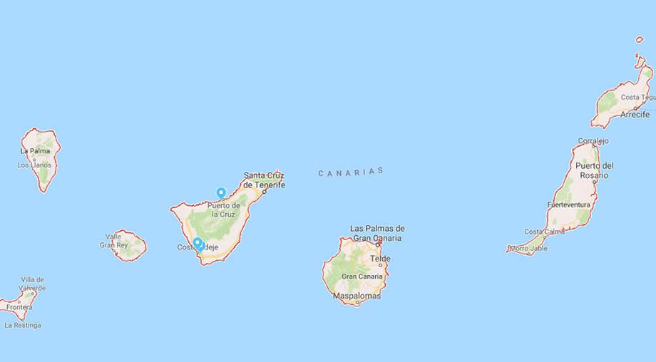 where-are-the-canary-islands-located