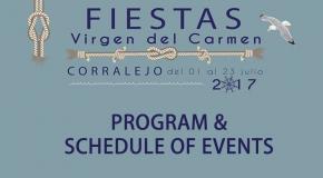 Fiestas del carmen corralejo 2017