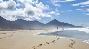 Cofete playa fuerteventura canary islands