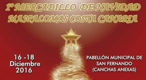 Maspalomas christmas market canary islands