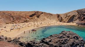 Playa papagayo beach lanzarote