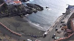 Playa chica santiago del teide