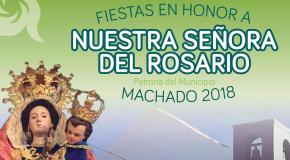 Fiesta en honor a nuestra senora del rosario tenerife 2018 spain