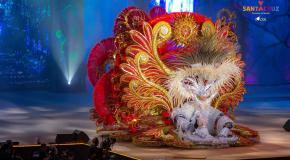 Santa cruz tenerife carnival queen 2018