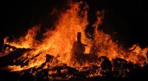 St john bonfires tenerife