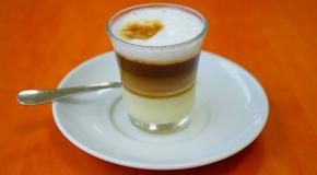 Barraquito coffee