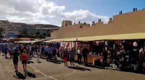 Los cristianos market