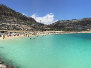 Puerto rico beach gran canaria
